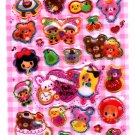 Pool Cool Japan Funny Tea Time Hard Gel Sticker Sheet Kawaii