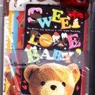 Crux Japan Sweet Love Baby Letter Set Kawaii