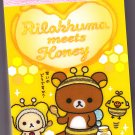 San-X Japan Rilakkuma Mini Memo Pad (B) 2011 Kawaii