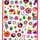 Q-Lia Japan Seven Pygmy's Little Dream Hard Gel Sticker Sheet Kawaii