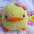 Eikoh Japan Piyo Chan Girl Angel Plush Strap New with Tag Kawaii