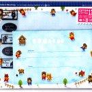 Mind Wave Japan KumaLife x Skating Letter Set with Stickers Kawaii