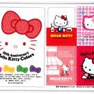 Sanrio Japan Hello Kitty 35th Anniversary Magnets 2009 Kawaii