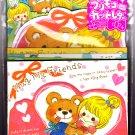 Crux Japan Hug My Friends Letter Set Kawaii