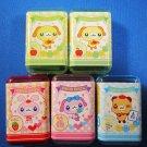 Lemon Japan Sweet Animal Eraser in Case Set of 5 Kawaii