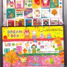 Q-Lia Japan Dream Box Letter Set with Stickers Kawaii