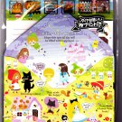 Kamio Japan Fairy Tale World Letter Set with Stickers Kawaii