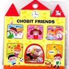 Kamio Japan Chobit Friends Sticker Sack Kawaii