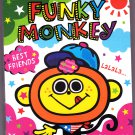 Kamio Japan Funky Monkey Mini Memo Pad Kawaii