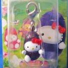 Sanrio Japan Hello Kitty Regional Nasu Mascot Charm Zipper Pull 2004 Kawaii