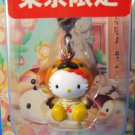 Sanrio Japan Hello Kitty Regional Sugamo Mascot Charm Zipper Pull 2004 Kawaii