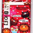 Pool Cool Japan Hello Animals Letter Set with Stickers Kawaii