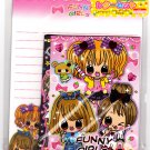 Daiso Japan Funny Girls Letter Set Kawaii