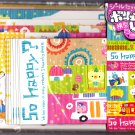 Crux Japan So Happy Letter Set with Stickers Kawaii
