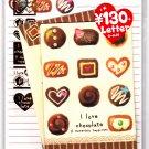 Kamio Japan I Love Chocolate Letter Set with Stickers Kawaii