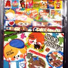 Kamio Japan Child Friends Letter Set with Stickers Kawaii