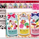 Mind Wave Japan Dolce Caramella Letter Set with Stickers Kawaii