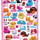 Crux Japan Pet Shop Hard Gel Sticker Sheet Kawaii