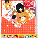 Crux Japan Animal Marching Band Letter Set with Stickers Kawaii