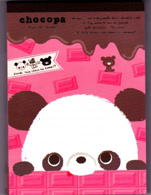 San-X Japan Chocopa Memo Pad with Stickers (B) 2011 Kawaii