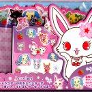 Sanrio Japan Jewelpet Letter Set with Stickers 2011 Kawaii