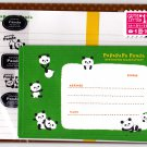 Mind Wave Japan Papapapa Panda Letter Set with Stickers Kawaii