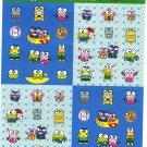 Sanrio Japan KeroKero Keroppi Sticker Sheet 2006 Kawaii