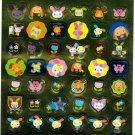 Sanrio Japan Usahana Foil Sticker Sheet (B) 2006 Kawaii