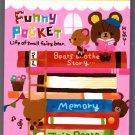 Pool Cool Japan Funny Pocket Mini Memo Pad Kawaii