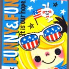Crux Japan Funny & Fun Mini Memo Pad Kawaii