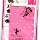 Mind Wave Japan Les Jours Letter Set with Stickers Kawaii
