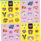 Sanrio Japan Usahana Sticker Sheet (B) 2006 Kawaii