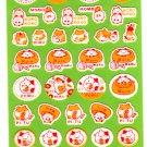Point Inc. Japan Maruster World Fuzzy Sticker Sheet (A) Kawaii