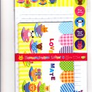 Synapse Japan Lovely Mate Letter Set with Stickers (B) Kawaii