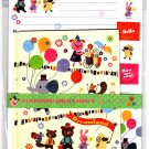 Synapse Japan Dreamland Letter Set with Stickers (A) Kawaii