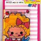 Daiso Japan Moco Moco Girl Letter Set Kawaii