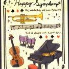 Crux Japan Happy Symphony Mini Memo Pad Kawaii
