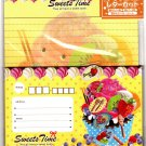 NPL Japan Sweets Time Letter Set with Stickers Kawaii