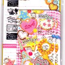 Mind Wave Japan Happy Happy Sugar Letter Set with Stickers Kawaii
