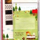 Mind Wave Japan Un Pique-Nique Letter Set with Stickers Kawaii