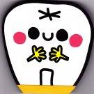 Kamio Japan The Tooth Diecut Mini Memo Pad Kawaii