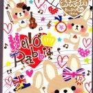 Mind Wave Japan Hello Hello Rabbit Memo Pad Kawaii