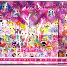 Sanrio Japan Jewelpet Letter Set with Stickers in Bag 2011 Kawaii