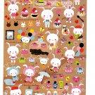 San-X Japan Rabby's Happy Diary Sticker Sheet 2010 Kawaii