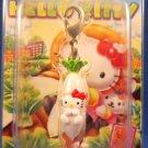 Sanrio Japan Hello Kitty Regional Mascot Charm Zipper Pull 2005 Kawaii