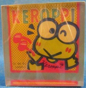 Sanrio Japan Keroppi Semi-Transparent Block Eraser 1996 Kawaii