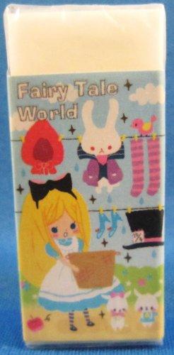 Kamio Japan Fairy Tale World Block Eraser (B) Kawaii
