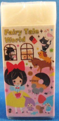Kamio Japan Fairy Tale World Block Eraser (C) Kawaii