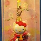 Sanrio Japan Hello Kitty Regional Mascot Charm Strap 2002 Kawaii