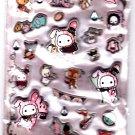 San-X Japan Sentimental Circus Marshmallow Sticker Sheet 2012 Kawaii